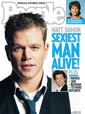 People Magazine Sexiest Man Alive Cover