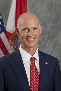Florida Governor Rick Scott: A Man with One Dog