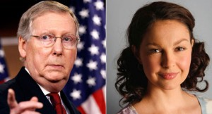 Mitch McConnell Ashley Judd