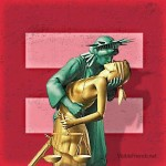 Marriage Equality Statue of Liberty Lady Justice