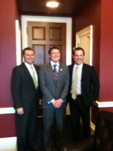 I'm the old man with Congressman Massie and Commissioner Comer